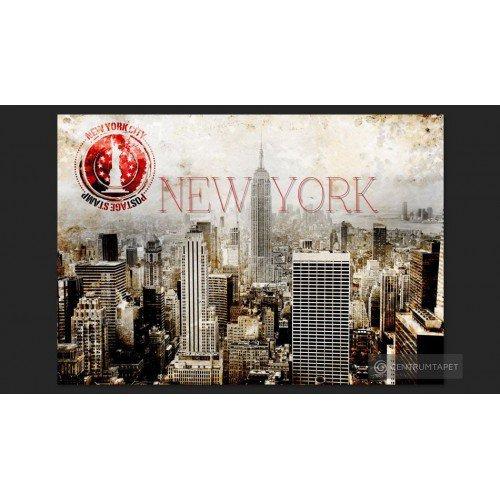 Fototapeta New York - POST...