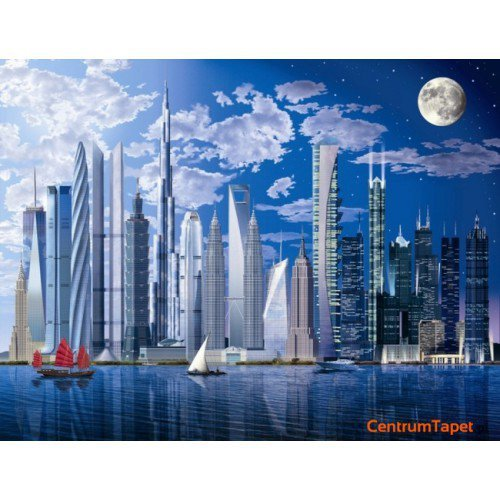 Fototapeta World's tallest Buildings 120