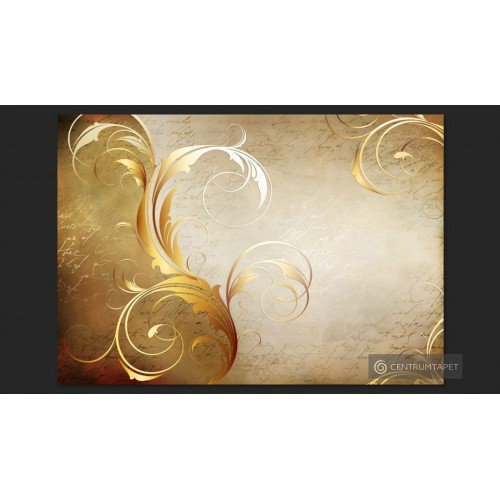 Fototapeta Złoty liść...