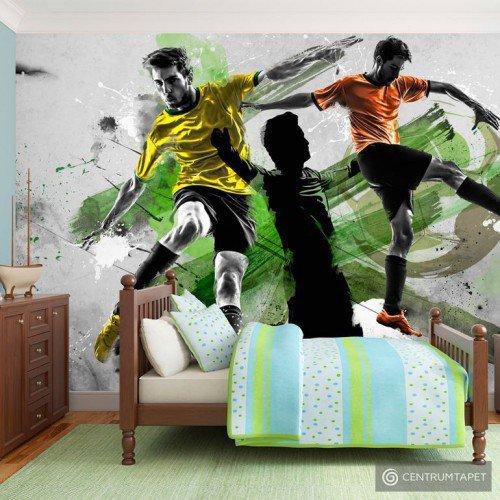 Fototapeta Gwiazdy futbolu 10120907-2