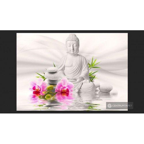 Fototapeta Budda i orchidee...