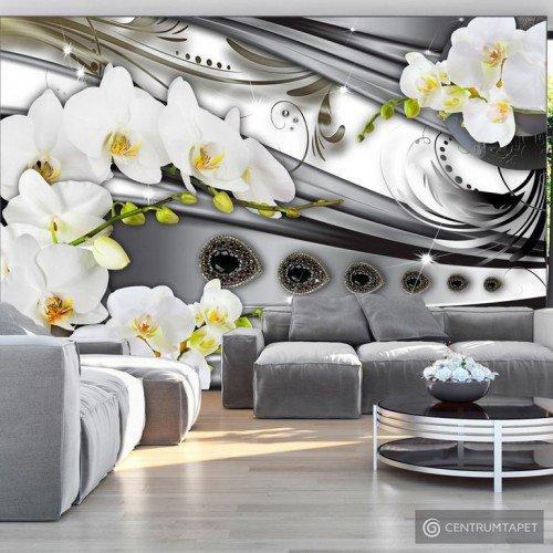 Fototapeta Orchidee & biżuteria b-A-0088-a-b