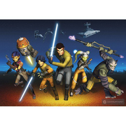 Fototapeta STAR WARS REBELS RUN 8-486
