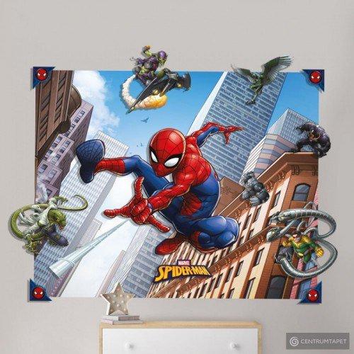 Fototapeta ścienna 3D 44586 Spider-Man