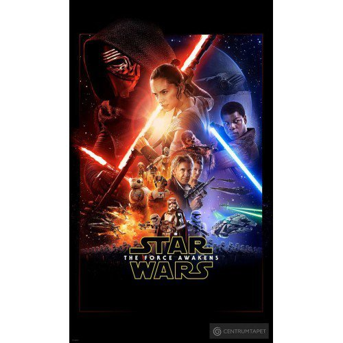 Fototapeta Star Wars EP7 Official Movie Poster VD-046