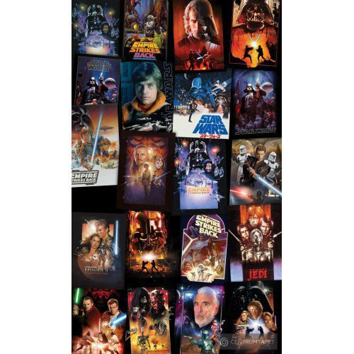 Fototapeta Star Wars Posters Collage VD-048