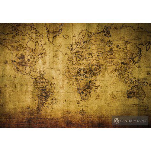 Fototapeta 3600 Mapa świata