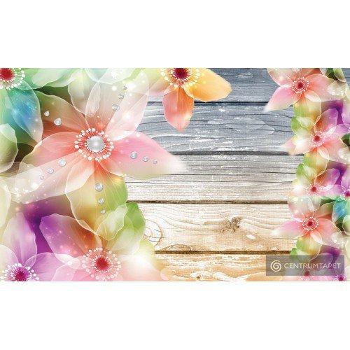 Fototapeta 3663 Kolorowe kwiaty