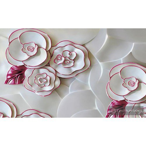 Fototapeta 3695 Kwiaty z porcelany
