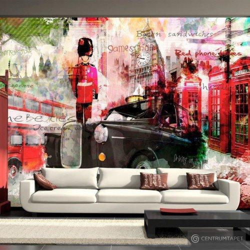 Fototapeta 10110904-4 Ulice Londynu