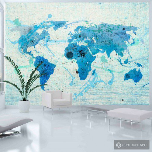 Fototapeta 10040910-17 Cruising and sailing -  The World map