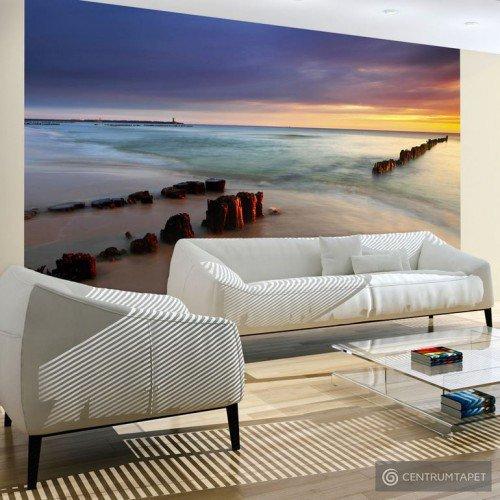 Fototapeta 100403-160 Plaża - wschód słońca
