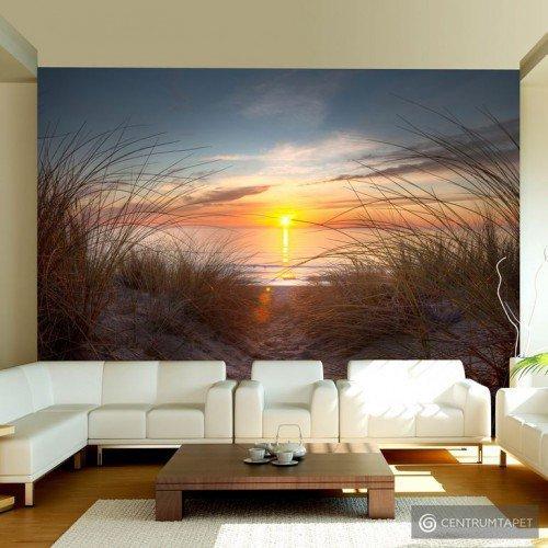 Fototapeta 100403-185 Zachód słońca nad Oceanem Atlantyckim