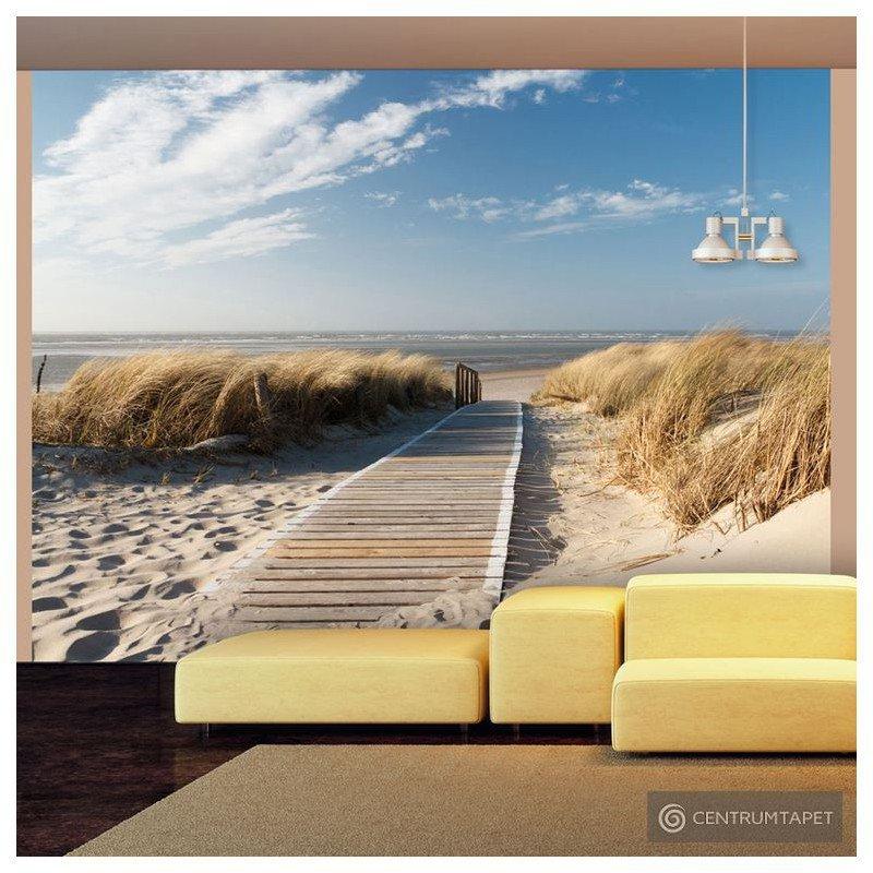 Fototapeta 100403-39 Plaża Morza Północnego