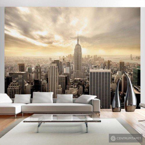 Fototapeta 100404-2 Nowy Jork - Manhattan o świcie