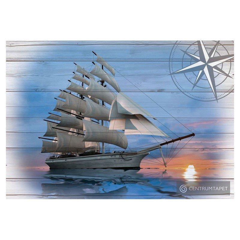 Fototapeta 10029 Statek na morzu