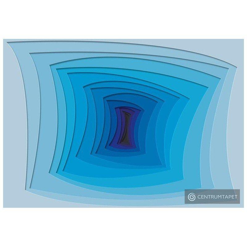 Fototapeta 10125 Niebieska abstrakcja
