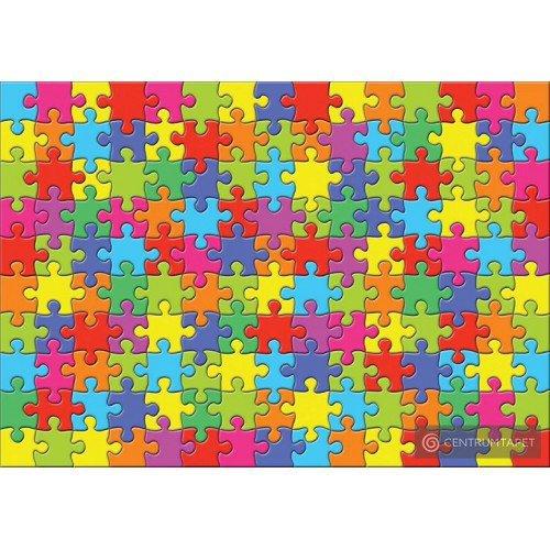 Fototapeta 10127 Kolorowe puzzle