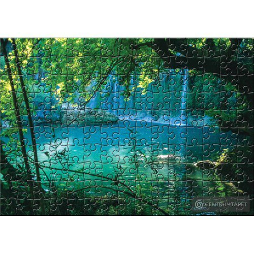 Fototapeta 10131 Wodospad z Puzzle
