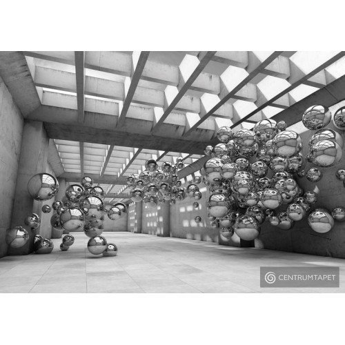 Fototapeta 10132 Korytarz betonowy