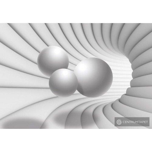 Fototapeta 10141 Biały tunel 3D