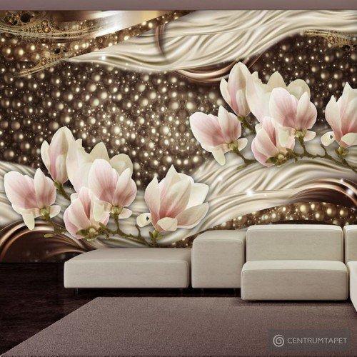 Fototapeta Perły i magnolie b-A-0256-a-b