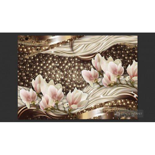 Fototapeta Perły i magnolie...