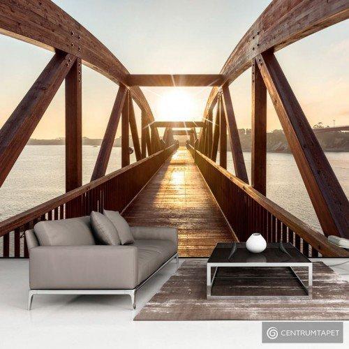 Fototapeta Most słońca c-B-0086-a-b