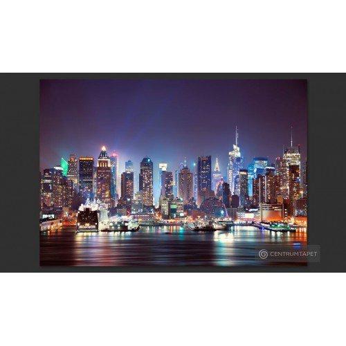 Fototapeta Nocny Nowy Jork...
