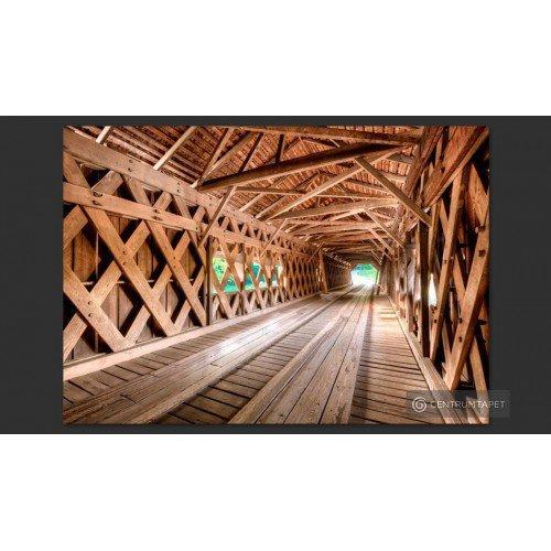 Fototapeta Drewniany most...