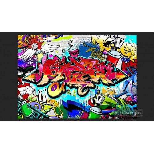 Fototapeta Street art:...