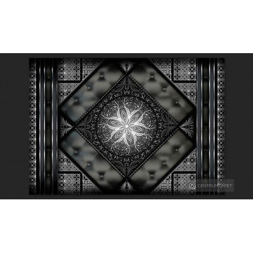 Fototapeta Czarna mozaika...