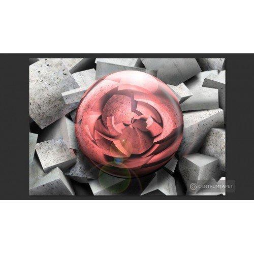 Fototapeta Kamienna róża...