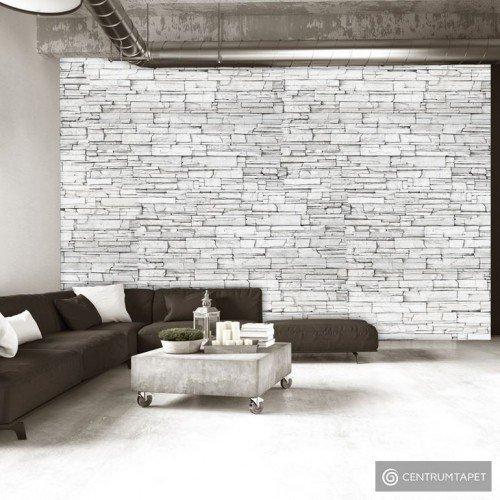 Fototapeta Białe cegły f-A-0347-a-b