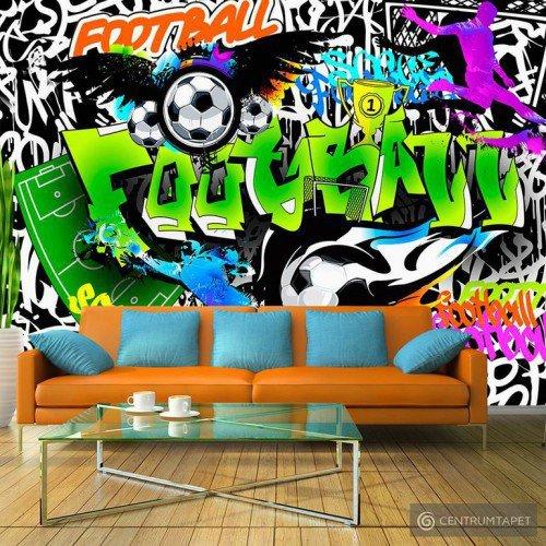 Fototapeta Piłkarskie graffiti i-A-0111-a-b