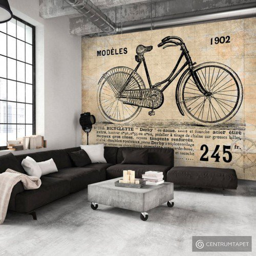 Fototapeta Staromodny rower i-B-0004-a-b