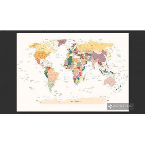 Fototapeta Mapa świata...