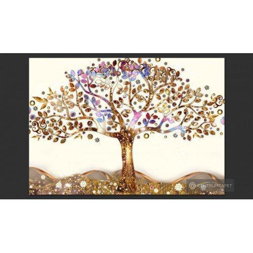 Fototapeta Złote drzewo...