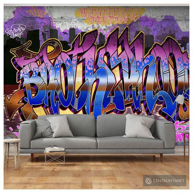 Fototapeta Kolorowy mural m-A-0586-a-b