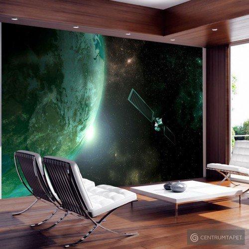 Fototapeta Zielona planeta n-B-0007-a-b