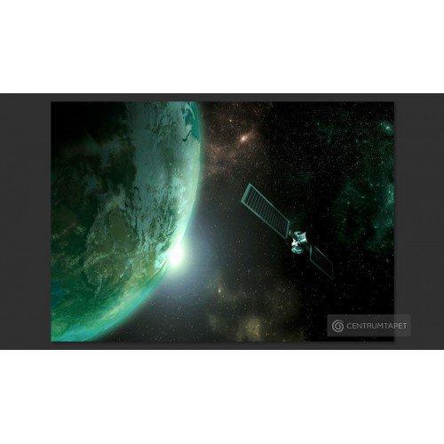 Fototapeta Zielona planeta...
