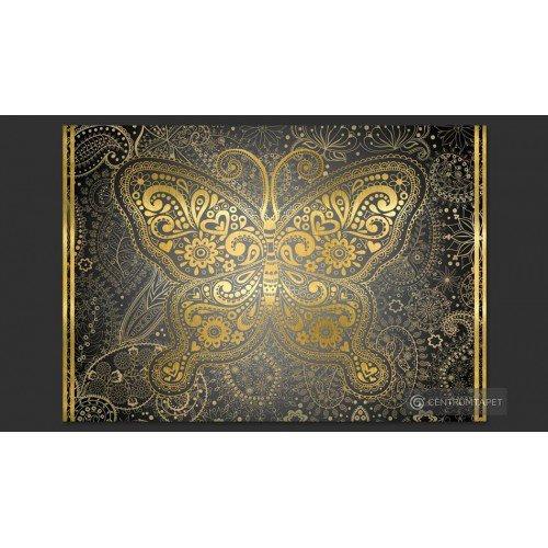 Fototapeta Złoty motyl...