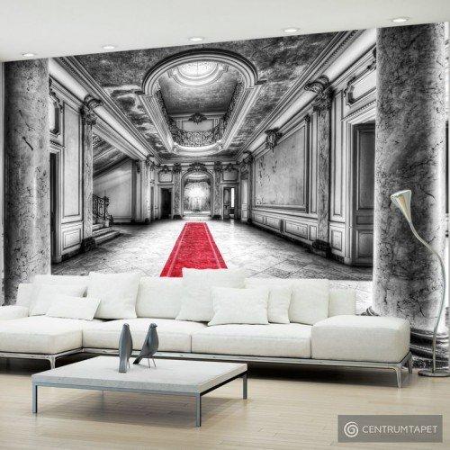 Fototapeta Tajemnica marmuru - czarno-biała 101104-5