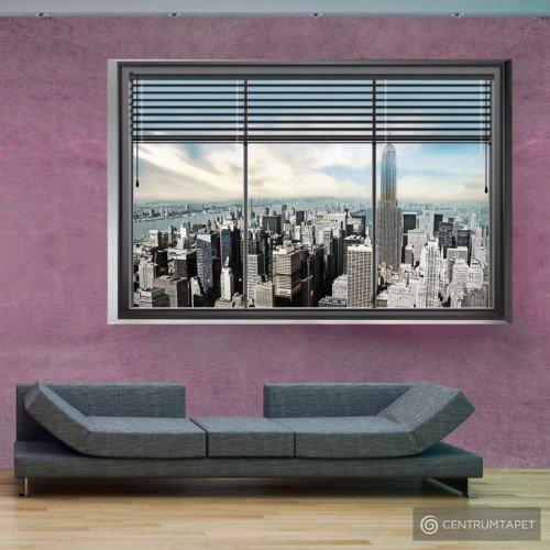 Fototapeta Nowojorskie okno II 10110904-15