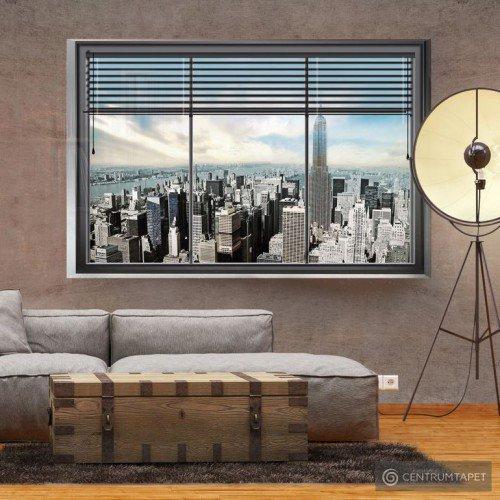 Fototapeta Nowojorskie okno 10110904-16