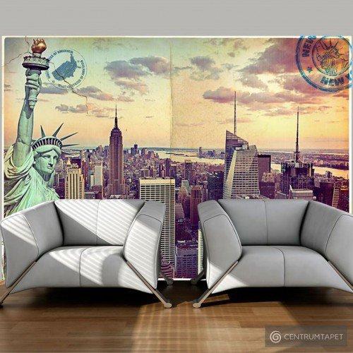 Fototapeta Pocztówka z Nowego Jorku 10110904-22