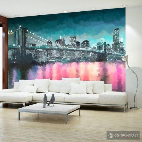 Fototapeta Malowany Nowy Jork 10110904-23