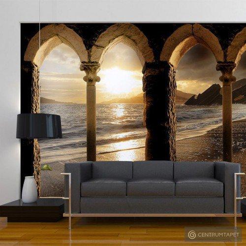 Fototapeta Zamek na plaży 10110904-28