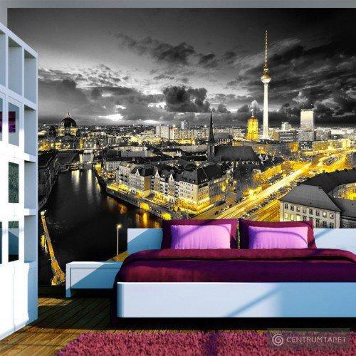 Fototapeta Berlin nocą 10110904-31