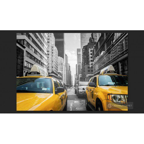 Fototapeta New York taxi...